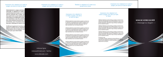 imprimerie depliant 4 volets  8 pages  web design abstrait arriere plan bande MLGI84414