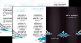 personnaliser maquette depliant 4 volets  8 pages  web design abstrait arriere plan bande MLGI84418