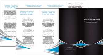 personnaliser maquette depliant 4 volets  8 pages  web design abstrait arriere plan bande MLIG84418
