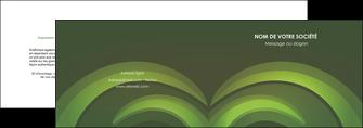 exemple depliant 2 volets  4 pages  espaces verts texture contexture abstrait MLGI85474