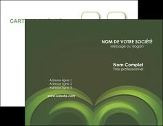 imprimer carte de visite espaces verts texture contexture abstrait MLGI85480