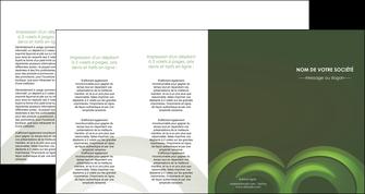 faire modele a imprimer depliant 4 volets  8 pages  espaces verts texture contexture abstrait MLGI85494