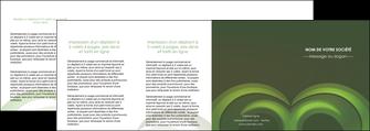 modele depliant 4 volets  8 pages  espaces verts texture contexture abstrait MLGI85496