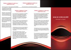 imprimer depliant 3 volets  6 pages  web design texture contexture abstrait MIF86268