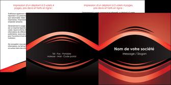 faire modele a imprimer depliant 2 volets  4 pages  web design texture contexture abstrait MIF86272