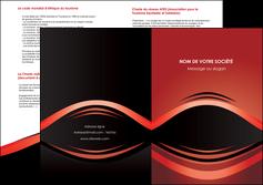 personnaliser modele de depliant 2 volets  4 pages  web design texture contexture abstrait MIF86282
