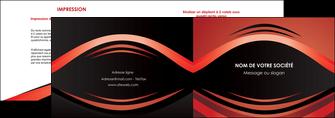 creation graphique en ligne depliant 2 volets  4 pages  web design texture contexture abstrait MIF86286
