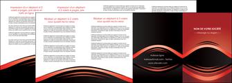 modele en ligne depliant 4 volets  8 pages  web design texture contexture abstrait MIF86304