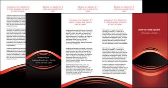 exemple depliant 4 volets  8 pages  web design texture contexture abstrait MIF86308
