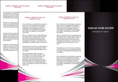 personnaliser maquette depliant 3 volets  6 pages  restaurant menu restaurant liste menu rose MLIG86458