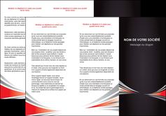 modele en ligne depliant 3 volets  6 pages  web design texture contexture structure MLIG86510
