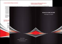 faire modele a imprimer depliant 2 volets  4 pages  web design texture contexture structure MIF86524