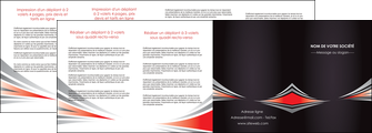 creer modele en ligne depliant 4 volets  8 pages  web design texture contexture structure MLGI86546