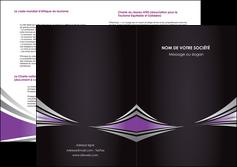 imprimer depliant 2 volets  4 pages  web design texture contexture structure MIF86576