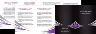 imprimerie depliant 4 volets  8 pages  web design texture contexture structure MIF86598