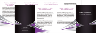 personnaliser maquette depliant 4 volets  8 pages  web design texture contexture structure MIF86604