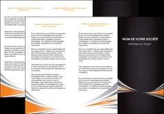 imprimerie depliant 3 volets  6 pages  web design texture contexture structure MIF86614
