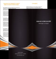 imprimerie depliant 2 volets  4 pages  web design texture contexture structure MIF86616