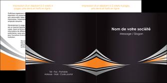 imprimerie depliant 2 volets  4 pages  web design texture contexture structure MIF86618