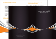 imprimer depliant 2 volets  4 pages  web design texture contexture structure MIF86628