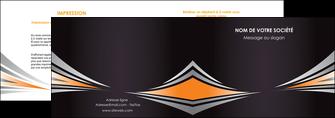 faire depliant 2 volets  4 pages  web design texture contexture structure MIF86632