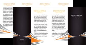 maquette en ligne a personnaliser depliant 4 volets  8 pages  web design texture contexture structure MIF86654