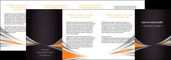 creer modele en ligne depliant 4 volets  8 pages  web design texture contexture structure MIF86656