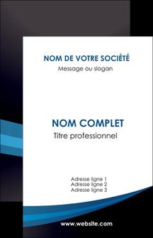 Commander Carte de visite Web Design papier publicitaire et imprimerie Carte de visite - Portrait