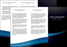 impression depliant 3 volets  6 pages  web design texture contexture structure MLGI86992