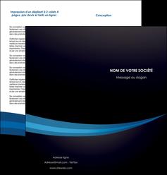 imprimerie depliant 2 volets  4 pages  web design texture contexture structure MLGI86994