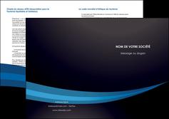 modele en ligne depliant 2 volets  4 pages  web design texture contexture structure MLGI87006