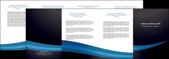 personnaliser maquette depliant 4 volets  8 pages  web design texture contexture structure MLGI87008