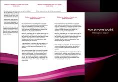 imprimerie depliant 3 volets  6 pages  web design texture contexture structure MLGI87148
