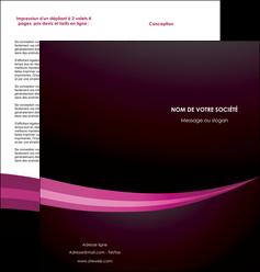 maquette en ligne a personnaliser depliant 2 volets  4 pages  web design texture contexture structure MLGI87150