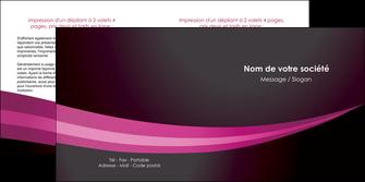 faire modele a imprimer depliant 2 volets  4 pages  web design texture contexture structure MLGI87152