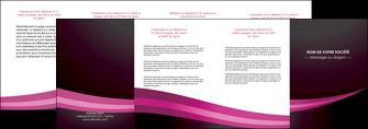 imprimer depliant 4 volets  8 pages  web design texture contexture structure MLGI87164