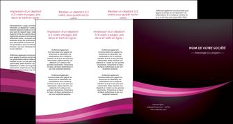 modele depliant 4 volets  8 pages  web design texture contexture structure MLGI87168