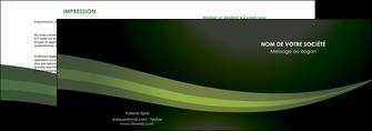 creation graphique en ligne depliant 2 volets  4 pages  texture contexture structure MIF87190