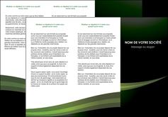 exemple depliant 3 volets  6 pages  texture contexture structure MIF87200