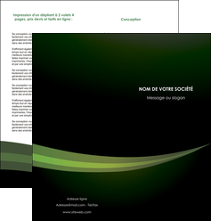 personnaliser maquette depliant 2 volets  4 pages  texture contexture structure MIF87202