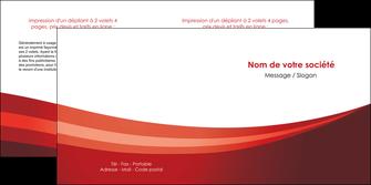 faire modele a imprimer depliant 2 volets  4 pages  web design texture contexture structure MLIP87256