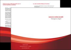personnaliser modele de depliant 2 volets  4 pages  web design texture contexture structure MLIP87266