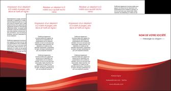 modele en ligne depliant 4 volets  8 pages  web design texture contexture structure MLIP87272