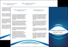 cree depliant 3 volets  6 pages  web design texture contexture structure MLGI87442