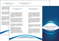 cree depliant 3 volets  6 pages  web design texture contexture structure MLIG87442