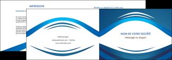 creer modele en ligne depliant 2 volets  4 pages  web design texture contexture structure MLGI87460