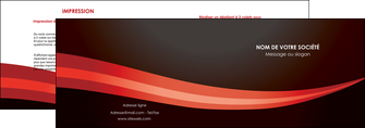 modele depliant 2 volets  4 pages  web design texture contexture structure MLGI87606
