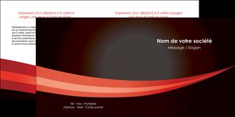 maquette en ligne a personnaliser depliant 2 volets  4 pages  web design texture contexture structure MLGI87620