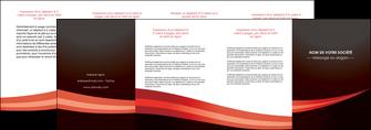 maquette en ligne a personnaliser depliant 4 volets  8 pages  web design texture contexture structure MLGI87632
