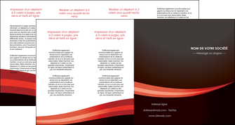 creation graphique en ligne depliant 4 volets  8 pages  web design texture contexture structure MLGI87636